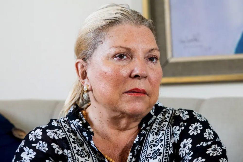 Elisa Carrió denunciará a senadores que la llamaron señora gorda