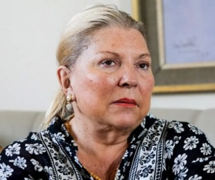 foto: Elisa Carrió denunciará a senadores que la llamaron