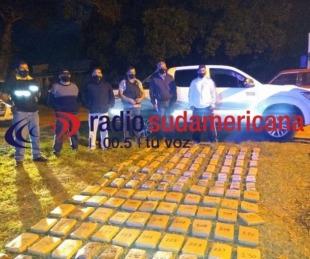 foto: La Policía secuestró casi 600 kilos de marihuana en Corrientes