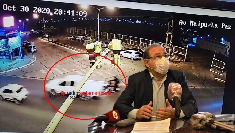 No vi el accidente, sino me hubiese detenido sin lugar a dudas
