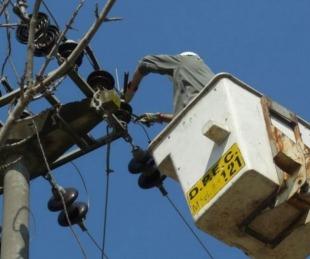 foto: Por trabajos, habrá cortes de luz en varias localidades del interior
