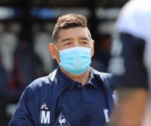 Internaron a Diego Maradona en una clínica de La Plata