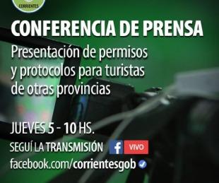 foto: Apertura del turismo: Este jueves habrá conferencia de prensa