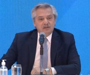 foto: Alberto Fernández anunciará el fin de la cuarentena obligatoria