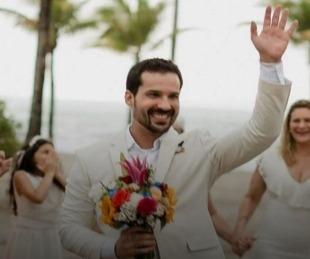 foto: Brasil: lo abandonó su prometido y se casó con él mismo