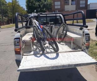 foto: Recuperaron bicicletas de alta gama y notebooks de un allanamiento