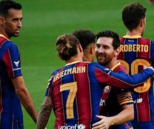 foto: Barcelona derrotó a Betis con dos goles de Messi en Liga de España