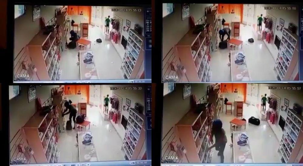 Santa Lucía: robó 130 prendas y lo detuvieron luego de allanar su casa