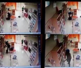 foto: Santa Lucía: robó 130 prendas y lo detuvieron luego de allanar su casa