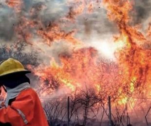foto: Incendios: seis provincias del país continúan con focos activos