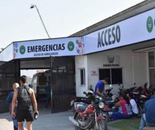foto: Hospital Escuela: 40 ingresos por siniestros viales y agresiones