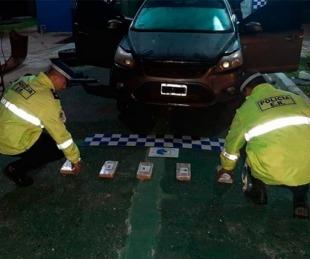 foto: Viajaba de Oberá a Entre Ríos con cocaína valuada en $ 20 millones