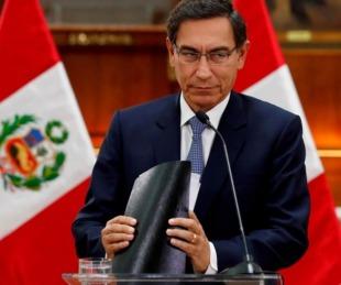 foto: El Congreso peruano destituyó al presidente acusado de corrupción