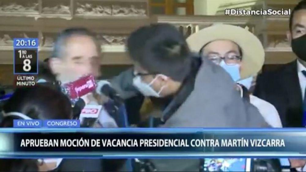 Perú: Le pegó a un congresista y podría ir preso durante 6 años