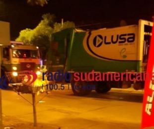 Sufrió fractura expuesta tras el choque entre dos camiones de Lusa