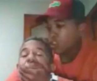 foto: Video: asaltaron a un profesor mientras daba una clase online