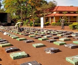 foto: Detuvieron a un camión brasileño con 10 toneladas de marihuana