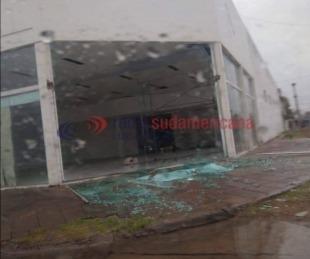 foto: Fotos: reportan grandes destrozos en Capital a raíz del temporal