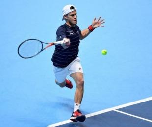 foto: Schwartzman no pudo con el poderío de Djokovic