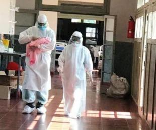 foto: Se produjeron dos nacimientos en el Hospital de Campaña