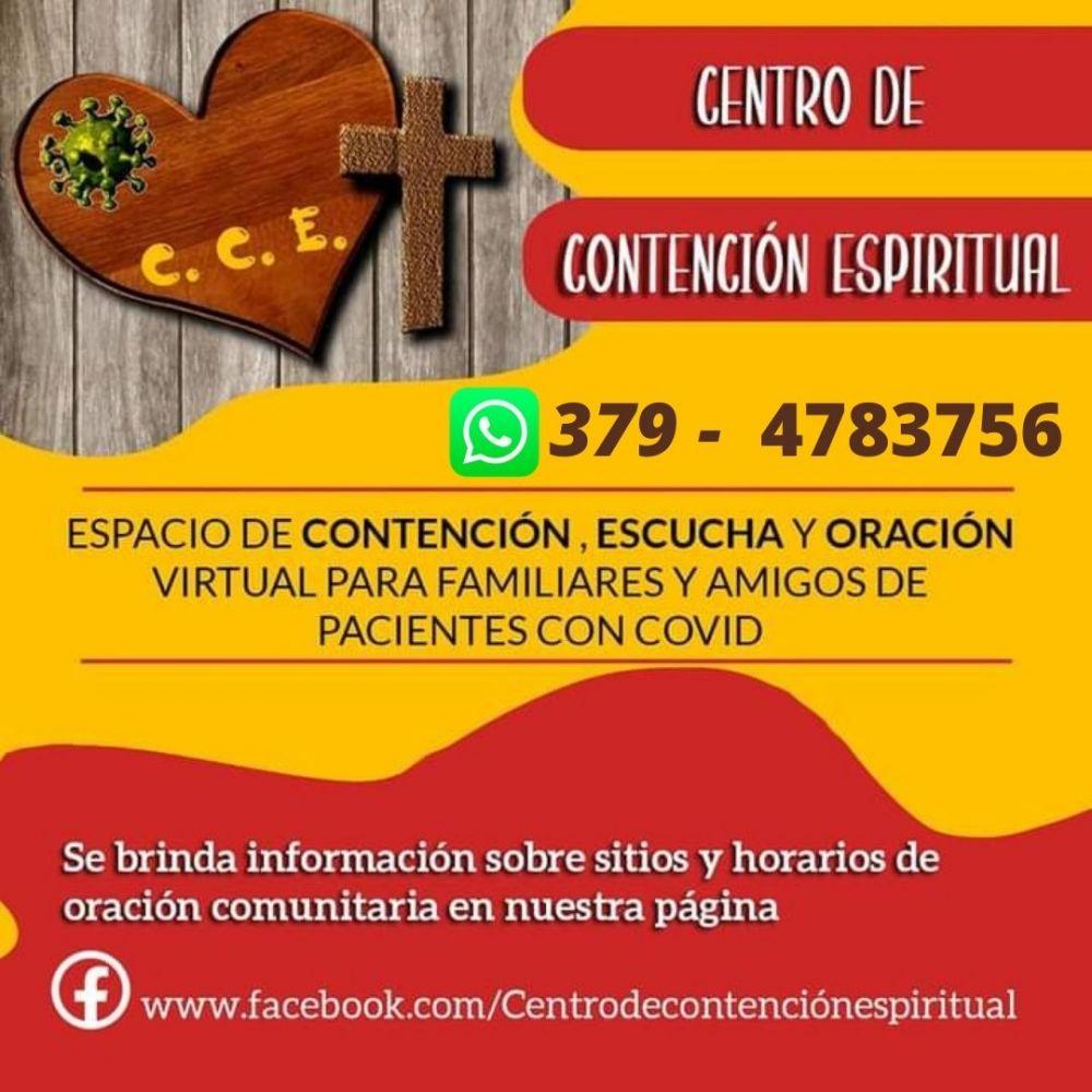 Centro de contención espiritual para contagiados de coronavirus