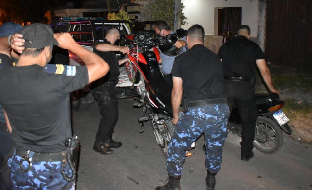 Capital: hubo 76 demorados a raíz de los operativos en la madrugada
