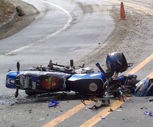 foto: Cruz de los Milagros: mujer murió luego de que una moto la atropelle