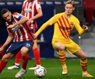 foto: Atlético Madrid derrotó a Barcelona y es puntero de la liga española