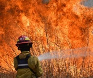 foto: Incendios: registran el doble de hectáreas en alerta que en 2019