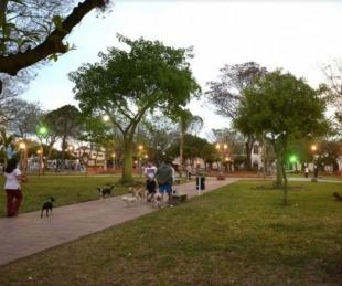 foto: Finde largo con intenso movimiento en plazas y espacios públicos