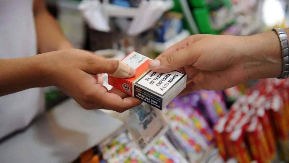 Cigarrillos: los precios aumentarán un 7% desde este martes en el país