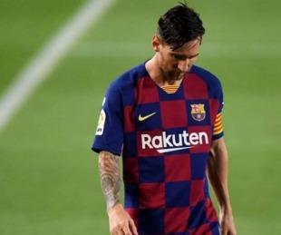 foto: Messi no jugará el próximo partido de Champions League del Barcelona