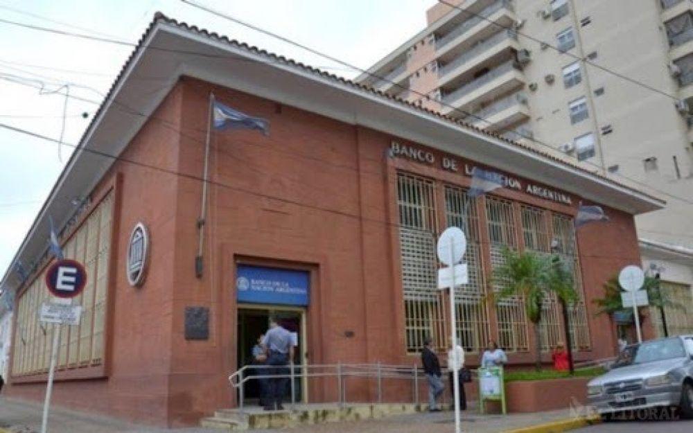 Banco Nación: mañana no atenderá en Corrientes por desinfección