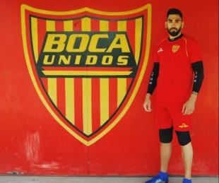 foto: Boca Unidos hizo oficial la llegada del arquero Álvaro Rezzano