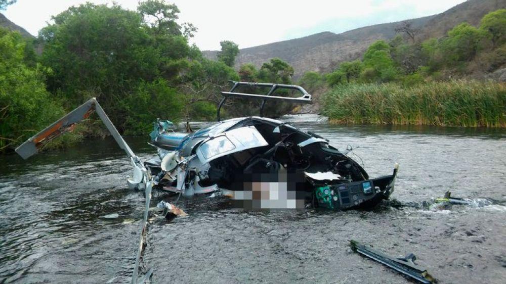 El primer informe confirmó que el helicóptero de Jorge Brito cayó tras impactar con los cables de una tirolesa