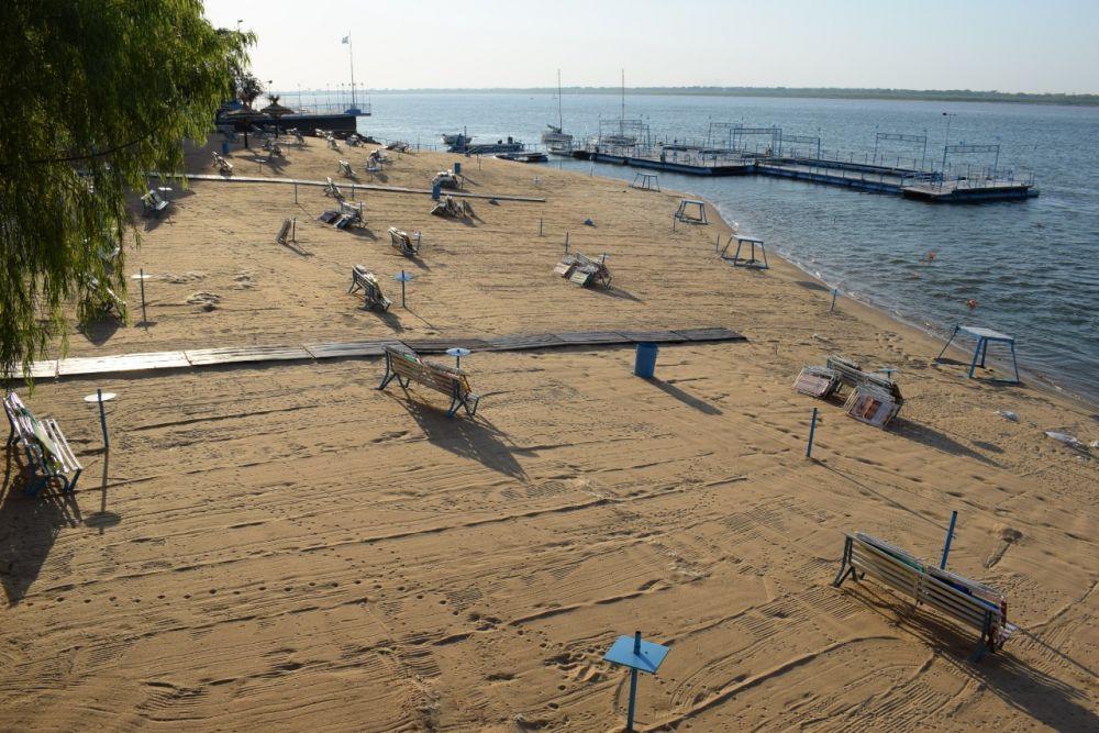 Con protocolo, Regatas Corrientes habilita sus playas