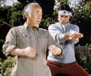 foto: La historia detrás del señor Miyagui: fracasó en 5 castings y no sabía artes marciales