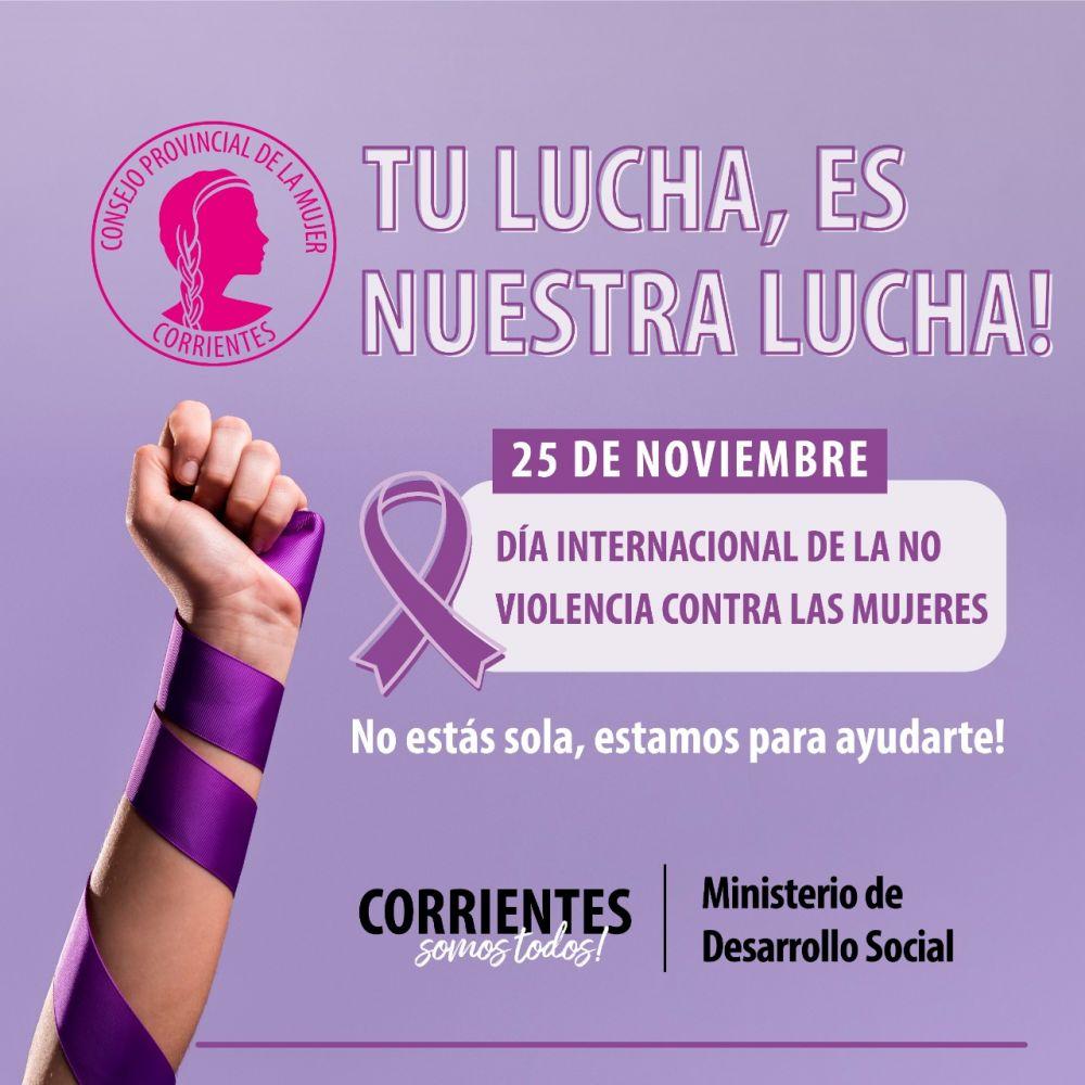 Acto por el Día Internacional de la No Violencia hacia la Mujer