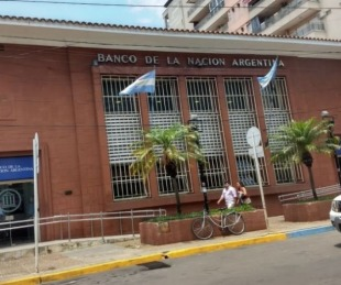 foto: Banco Nación: hoy no atenderá en Corrientes por desinfección