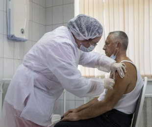 foto: Rusia afirma que su vacuna Sputnik V tiene una eficacia del 95%