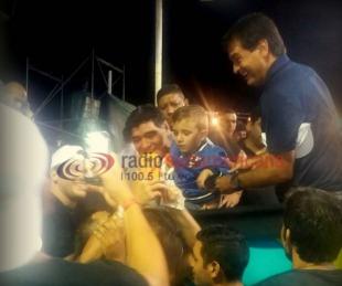 El día que Diego Maradona disfrutó de los Carnavales Correntinos