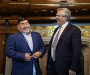 foto: Tres días de duelo nacional por la muerte de Diego Maradona