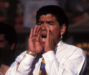 El recuerdo de Maradona en Mandiyú: así fue su debut como DT