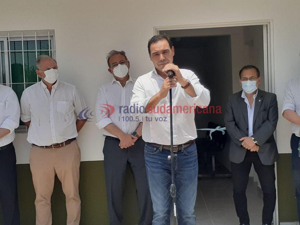 Valdés inauguró refacciones en el SAPS del B° Río Paraná
