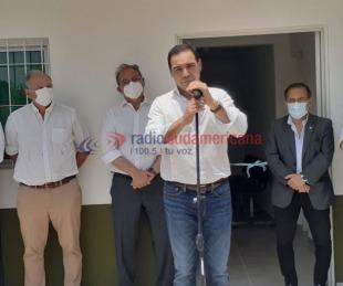 foto: Valdés inauguró refacciones en el SAPS del B° Río Paraná