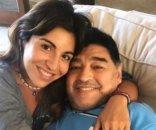 foto: El impactante posteo de Gianinna minutos antes de la muerte de Diego