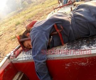 Conmovedoras imágenes luego de los graves incendios en Corrientes