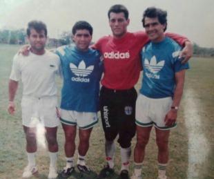 foto: Las intimidades de Diego Maradona en su paso por Mandiyú