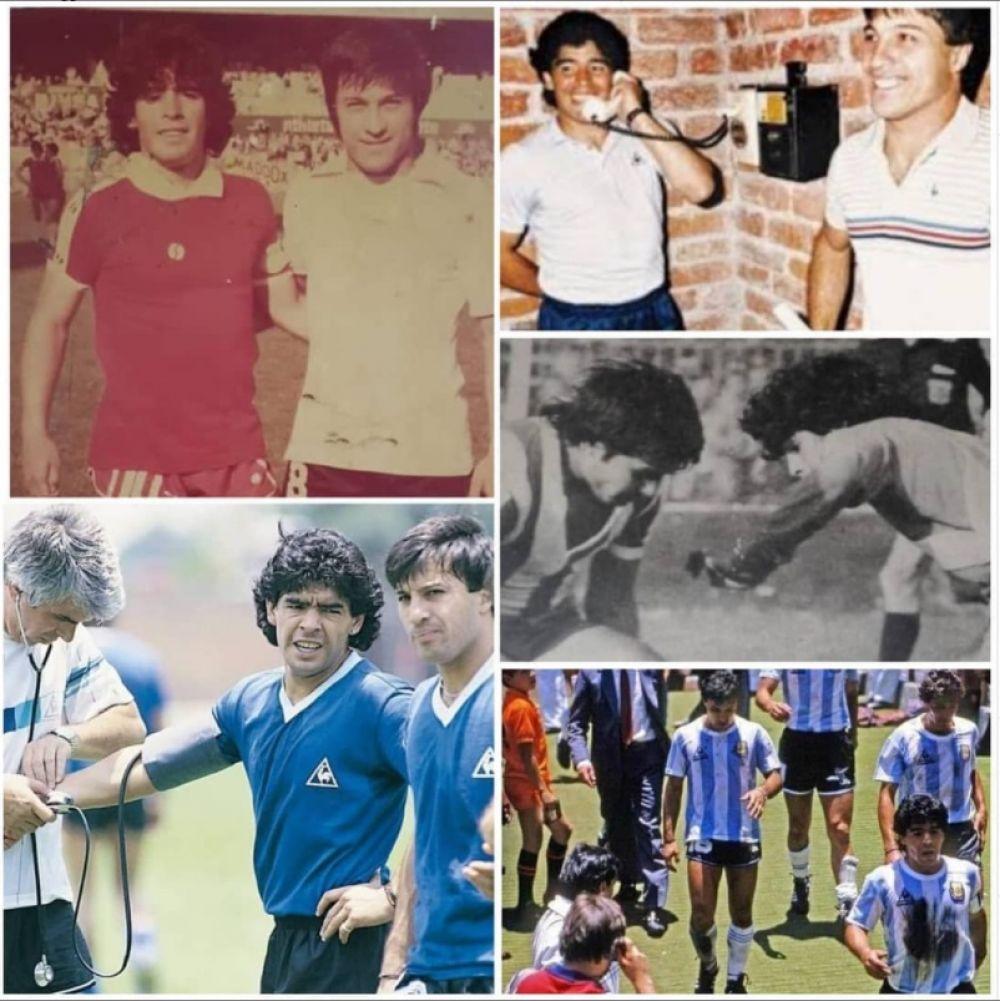 Fue un orgullo haber convivido tres mundiales con Maradona