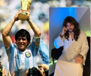 foto: Una charla con Dios: El peculiar homenaje de un humorista a Diego Maradona